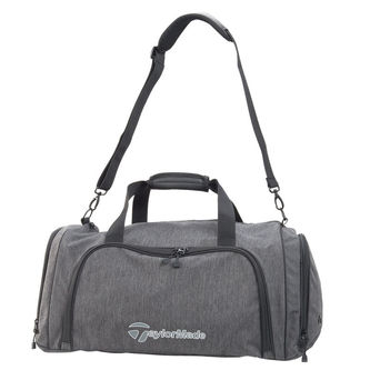 TaylorMade Mens Heather Grey Adjustable Classic Medium Duffle - Image 1