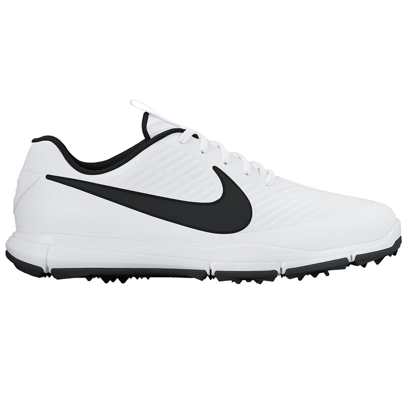 Nike Golf Mens White and Black Waterproof Explorer 2 S Golf Shoes - Image 1
