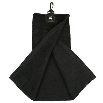 Mizuno Golf Black Masters Tri-Fold Towel - Image 1