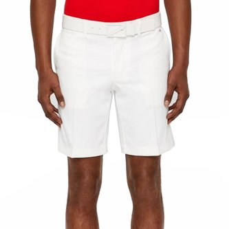 J.Lindeberg Eloy Tapered Micro Stretch Golf Shorts - White - Image 1