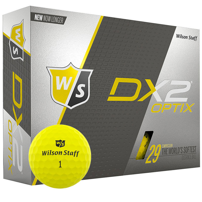 Wilson Staff DX2 Optix 12 Ball Pack - Image 1