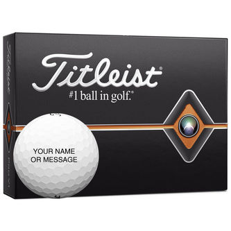 Titleist Pro V1 Special Play Personalised 12 Ball Pack 2019 - Image 1