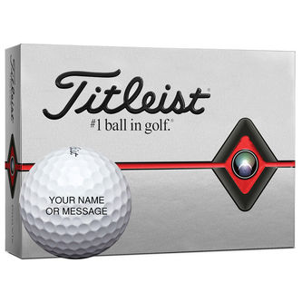 Titleist Pro V1x Special Play Personalised 12 Ball Pack 2019 - Image 1