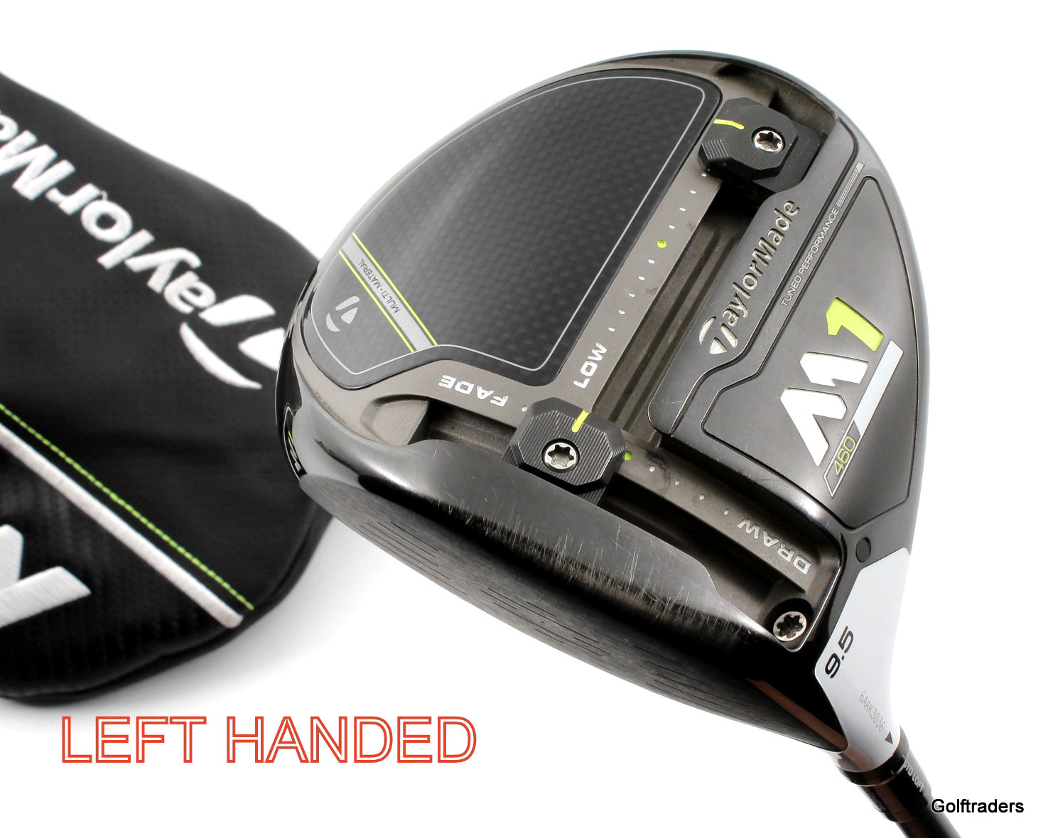 Taylormade 2017 M1 460 Driver 9.5º Graphite Extra Stiff Cover LH New Grip G94 - Image 1