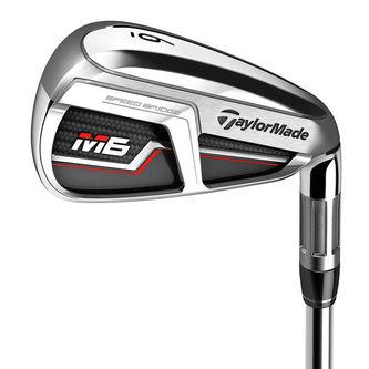 TaylorMade Tan Brown M6 Regular Left Hand 5-SW 7 Irons - Image 1
