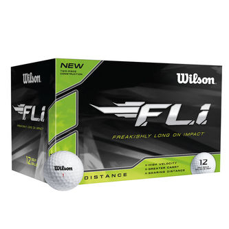 Wilson Mens White FLi 12 Ball Pack - Image 1