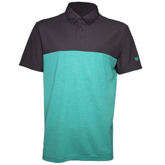 Palm Grove Linx Block Golf Polo Shirt - Image 1