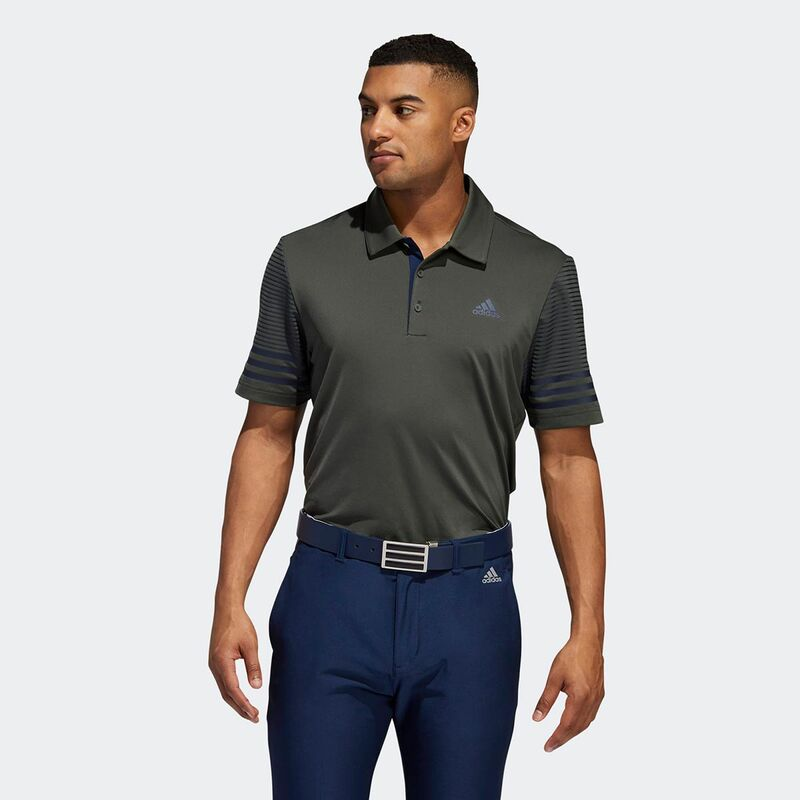 adidas Golf Ultimate Gradient Sleeve Golf Polo Shirt - Image 3