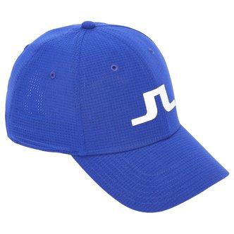J.Lindeberg Caden Tech Mesh Hat - White - Image 1