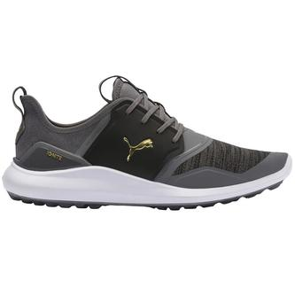 Puma IGNITE NXT Lace Golf Shoes - Black/Q Shade - Image 1