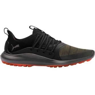 Puma IGNITE NXT SoleLace Golf Shoes - Black/Olive - Image 1