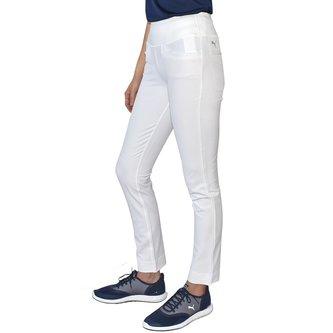 Puma Women's PWRSHAPE Golf Pants - White - Image 1