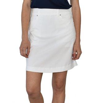 Abacus Cleek Women's Golf Skort - White - Image 1