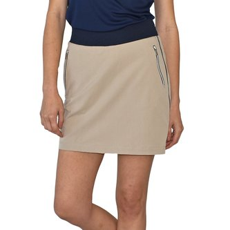 Calvin Klein Womens Lightweight Golf Skort - Natural - Image 1