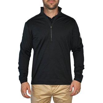 Cross Golf Tech T-Neck -  Black - Image 1