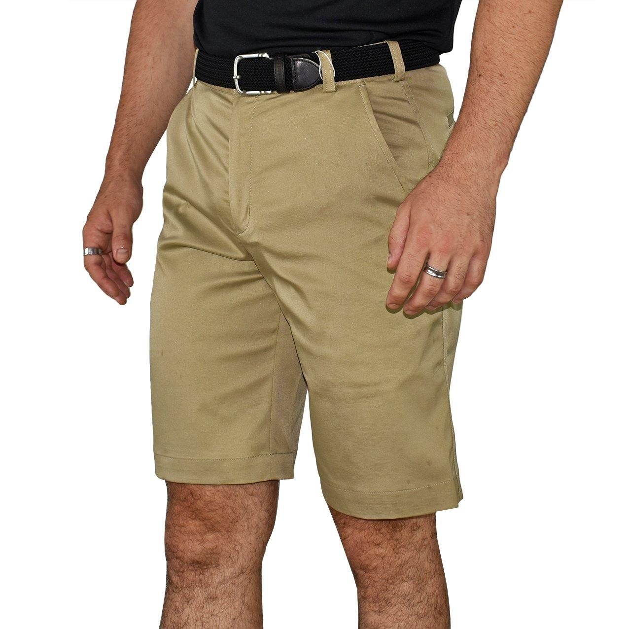 Nike Golf Flat Front Tech Golf Shorts - Khaki - Image 1