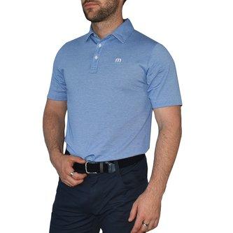 Travis Mathew The Zinna Golf Shirt - Strong Blue - Image 1