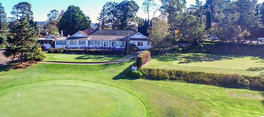 18 Holes For TWO With Drinks at Bowral Golf Club