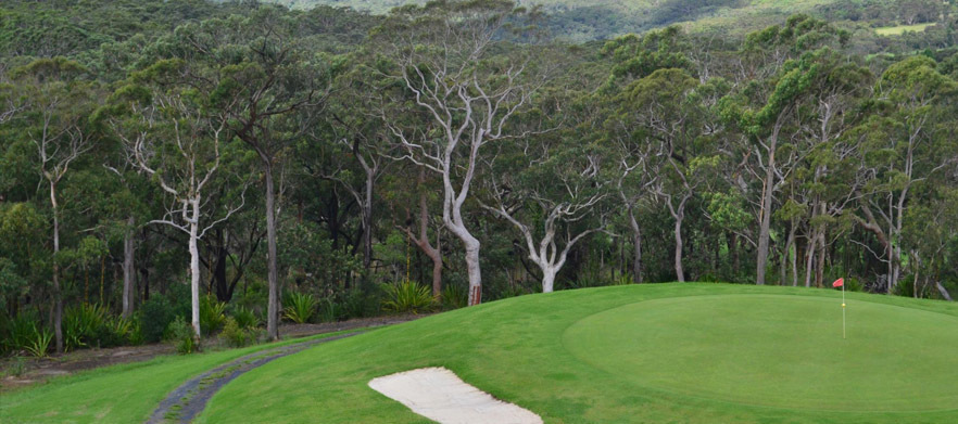 18 Holes For Two in a Cart With Drinks at Mangrove Mountain Golf Club
