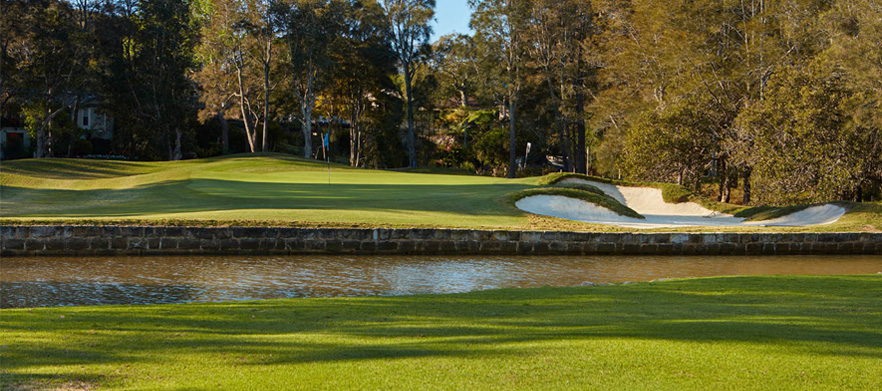 18 Holes For Two in a Motorised Golf Cart at The Stunning Bayview Golf Club!
