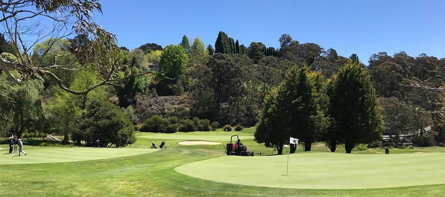 18 Holes For Four in Shared Motorised Carts at Blackheath GC