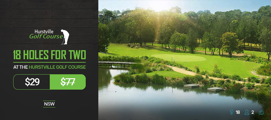 18 Holes For TWO at Hurstville Golf Course