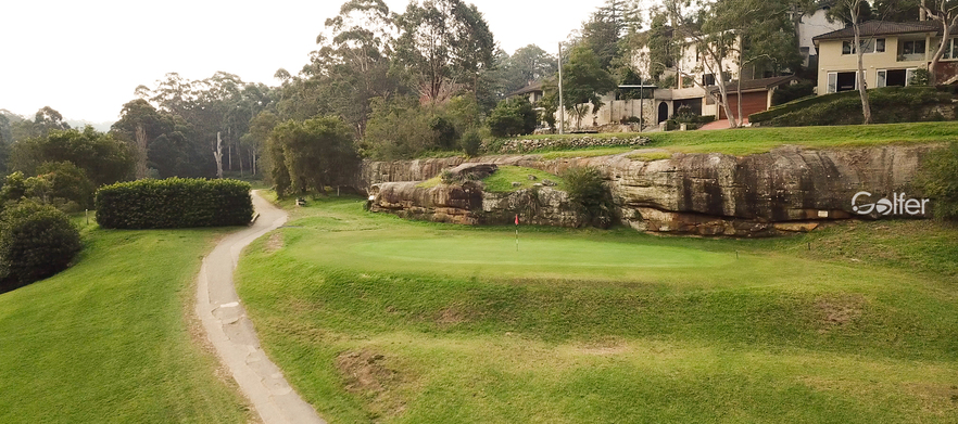 18 Holes For Four in Carts and a Drink Each at Chatswood Golf Club.