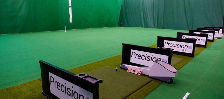 Full Bag Club Fitting at the State of the Art Precision Golf Indoor Centre!