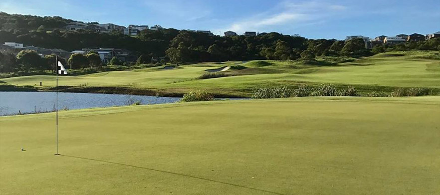 18 Holes For TWO in a Shared Motorised Cart at The Beautiful Links Shell Cove
