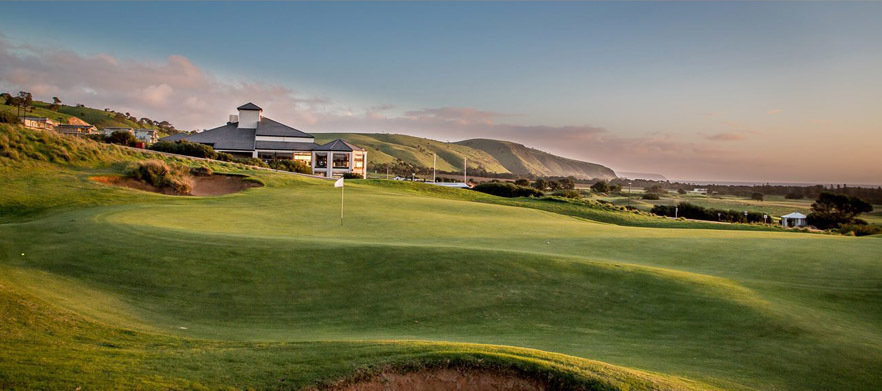 One of Australia's Top Courses! 18 Holes for Two with a Motorised Cart & Drinks at the Stunning Links Lady Bay Golf Resort!