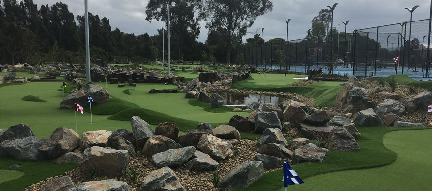 Mini Golf At KDV Sports - The Gold Coast