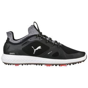 Puma Ignite PWRADAPT Wide Golf Shoes - Black - Image 1