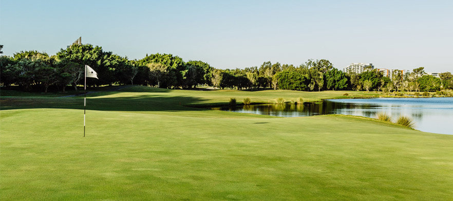 18 Holes For TWO at The Glades Golf Club With Cart
