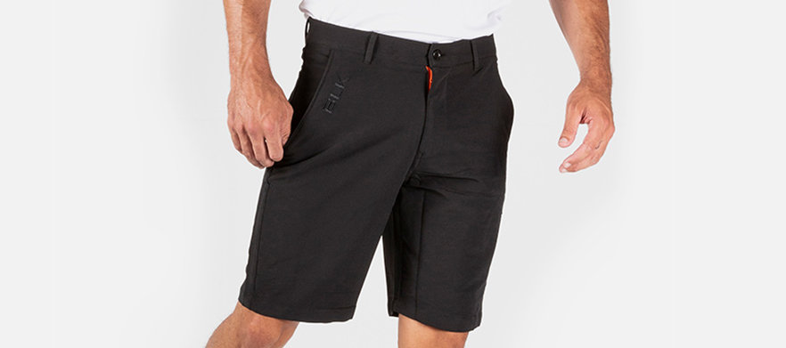 BLK Sport - Golf Short Sale! - Mens Leisure Golf Short BLACK - Multiple Sizes Available