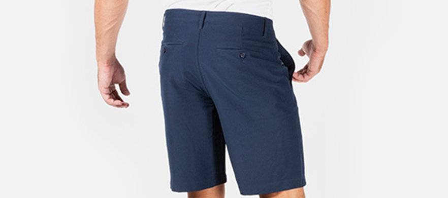 BLK Sport - Golf Short Sale! - Mens Leisure Golf Short NAVY - Multiple Sizes Available