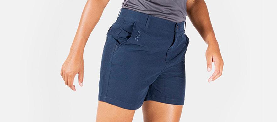 BLK Sport - Golf Short Sale! - Ladies Leisure Golf Short NAVY - Multiple Sizes Available