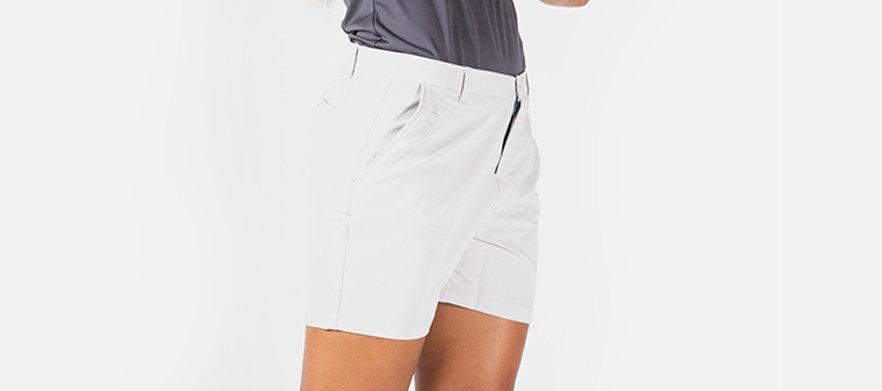 BLK Sport - Golf Short Sale! - Ladies Leisure Golf Short LIGHT GRAVEL - Multiple Sizes Available