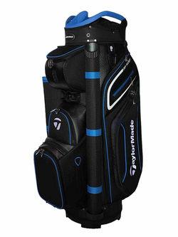 New Taylormade 20 Premium Cart Bag Black / Blue / White G4443 - Image 1