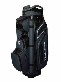 New Taylormade 20 Premium Cart Bag Grey / Black / White G4445 - Image 1