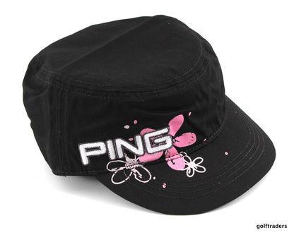 New Ping Ladies Ranger Golf Cap Black G4238 - Image 1