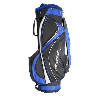 New Prosimmon Hallmark 2.0 Golf Cart Bag Black / White / Royal G4693 - Image 1
