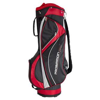 New Prosimmon Hallmark 2.0 Golf Cart Bag Black / White / Red G4692 - Image 1