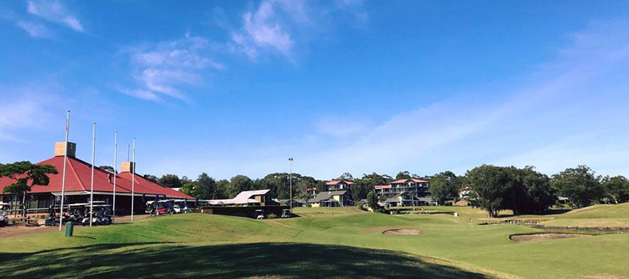 18 Holes For Four in Carts at Horizons Golf Resort