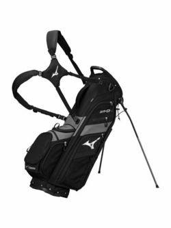 New Mizuno 2019 BR-D4 6 Way Golf Stand Bag - Black G5165 - Image 1