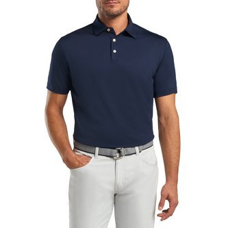 Peter Millar Solid Performance Polo - Navy - Image 1