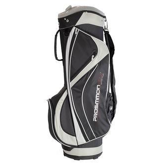 New Prosimmon Hallmark 2.0 Cart Bag Black / White / Dark Grey H824 - Image 1