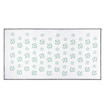 Titleist Mens White and Green St. Patrick`s Day Microfibre Towel - Image 1