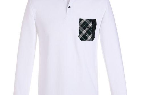 GOLFINO Extra Dry Black Watch Golf Polo Shirt - Image 1