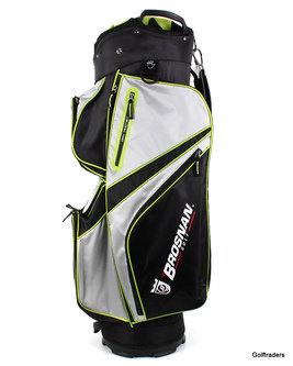 New Brosnan Coolmate IV Golf Cart Bag Black / Silver / Lime H1159 - Image 1