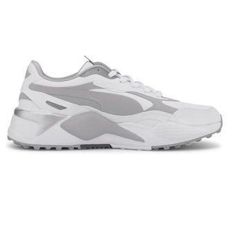 Puma RS-G Golf Shoes - White/Quarry - Image 1